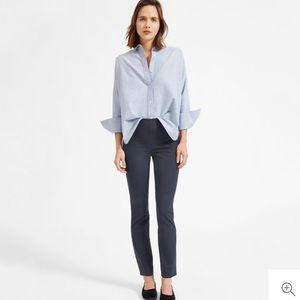 Everlane Side Zip Work Pants in Slate Gray